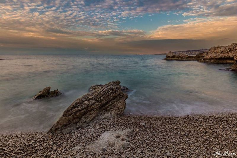 sunset  Beirut  lebanon  sea  clouds  canon  photography  canonme ...