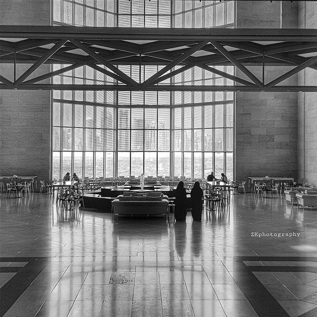 كل طرق النسيان.. تؤدي اليك!*درويش * bnw  bnw_captures  bnw_planet  bw... (Museum of Islamic Art (MIA))