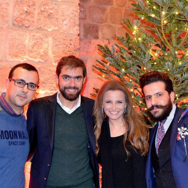 After a Miraculous Great Christmas Concert by Tania Kassis in Tripoli... (Tripoli, Lebanon)