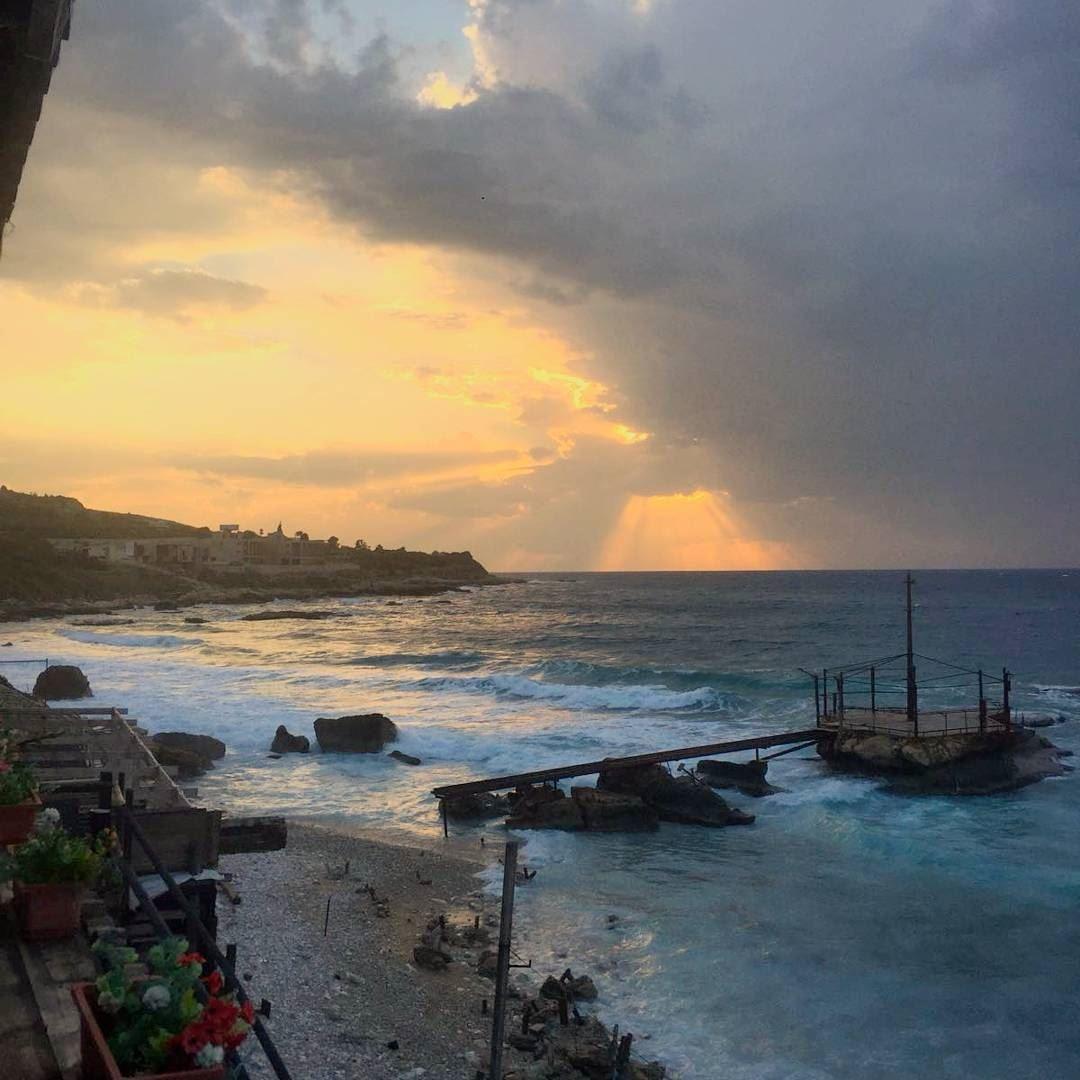 sunset beach nature sea -#main