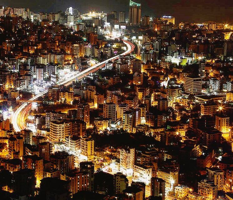 Fast Track Beirut to Jounieh? Wishful Thinking  traffic..━ ━ ━ ━ ━ ━ ━ ━ (Jounieh)