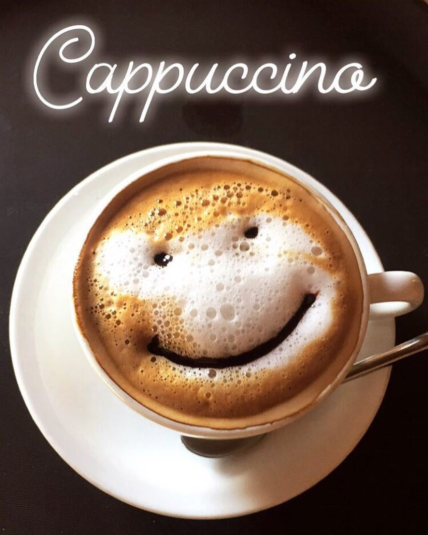 Smile it's Saturday!  smile saturday cappuccino hot drink bar delicious... (Locanda A La Granda)