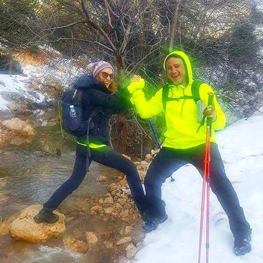 Life is meant for good friends and great adventures 😉 hiking... (Arz Ehmej)