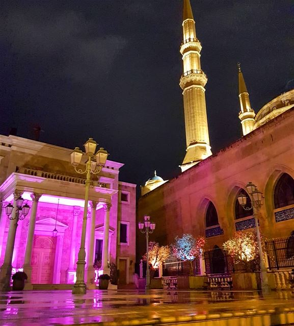 Church to the left, mosque to the right.. beirut  lebanon  travel ... (Downtown Beirut)