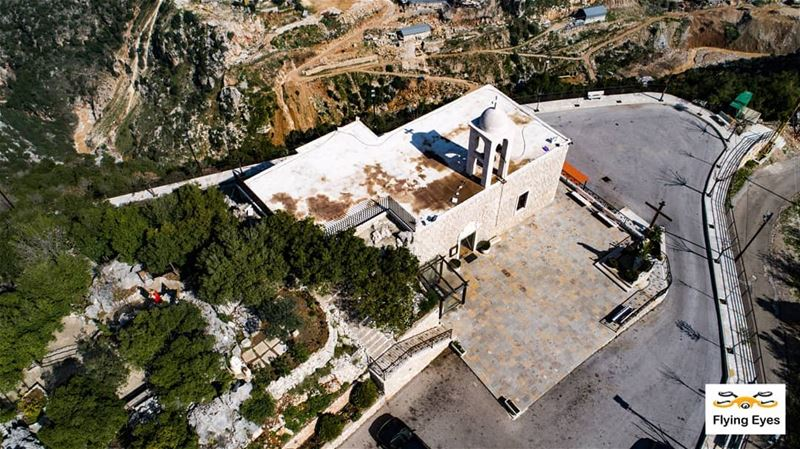 St Rafqa Church...may her blessings be with you all 👼🙏|🔴⚪⚪🌲⚪⚪🔴|... (Himlaya, Mont-Liban, Lebanon)