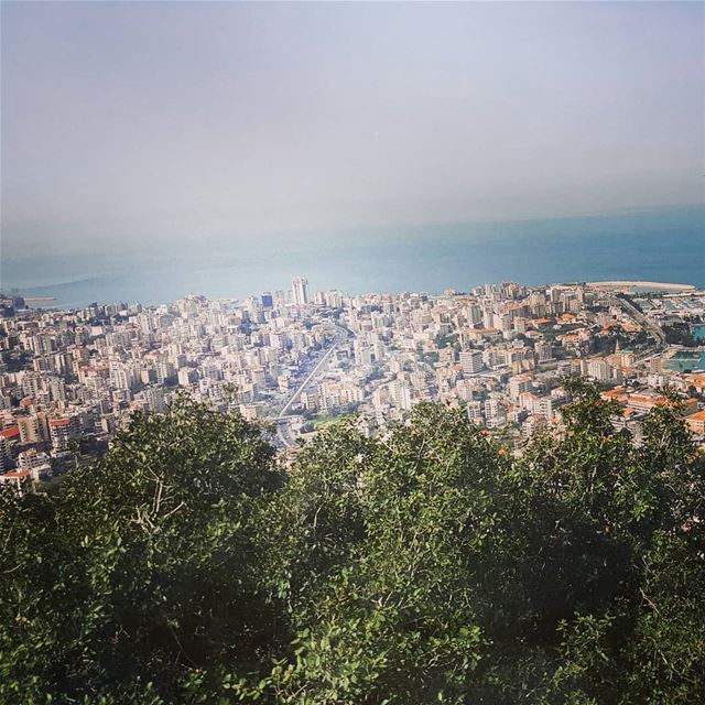 mybeautifullebanon  lebanon from  above  fromabove  takenbyme  love  view... (Harîssa, Mont-Liban, Lebanon)
