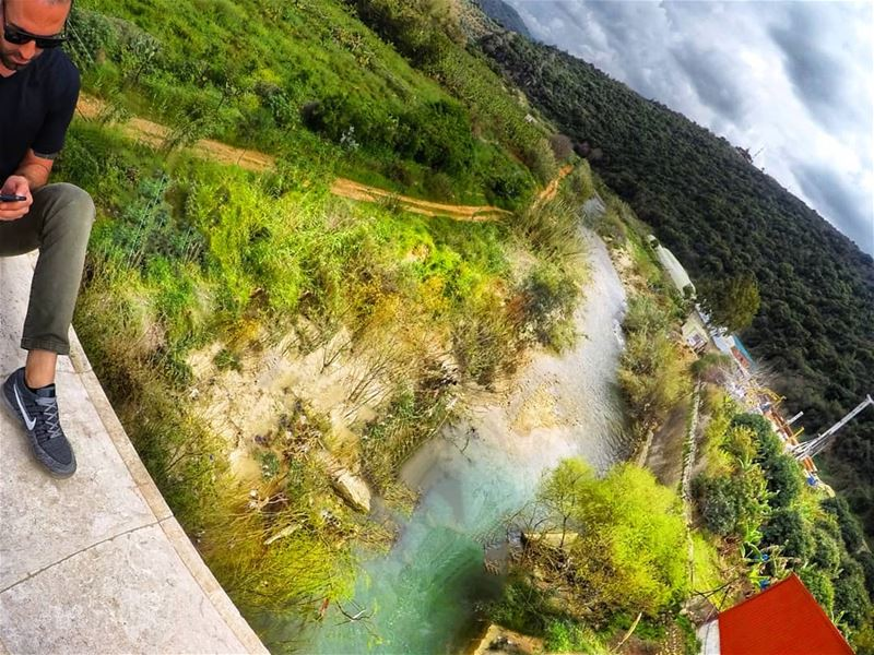 Don't try to steer the river. damour  goproleb  goprohero5  gopro ... (Damour, Lebanon)