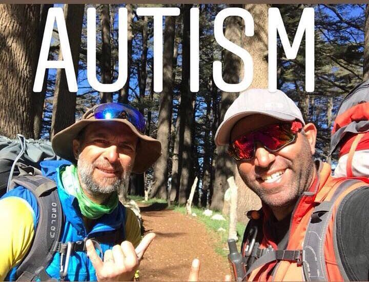 "From 2nd of April ""International Autism Day "" untill April 4th.@lindosdaou (Cedars of God)"