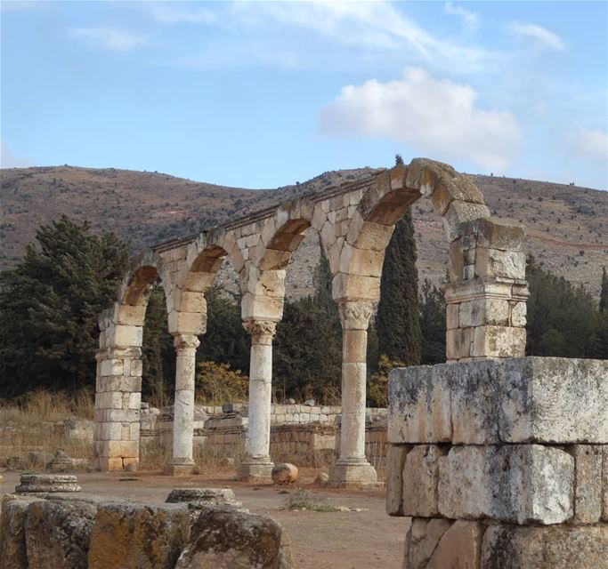 Although Baalbek is the most famous (Roman) ruin to visit in Lebanon, make... (Aanjar, Béqaa, Lebanon)
