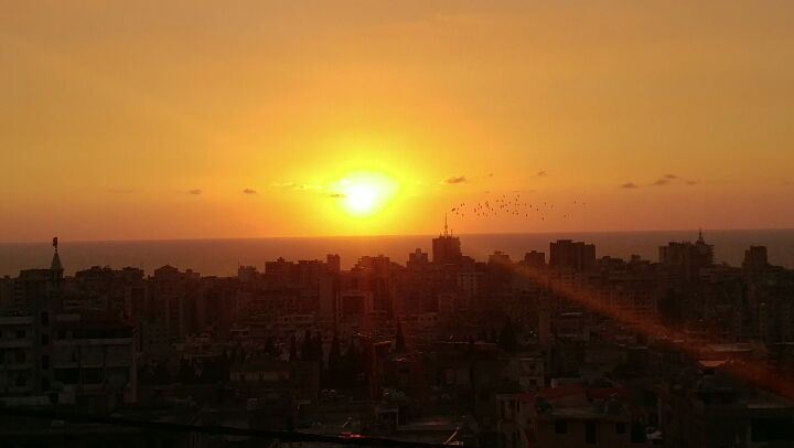 "Until we meet again ""SUN"" 🌞........ lebanoninstagram  visitsaida... (Saïda, Al Janub, Lebanon)"
