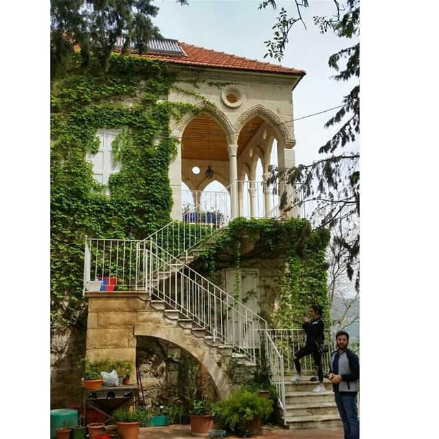 The 200 year old house at  Douma 🏡😍. Architecture ... (Douma, Liban-Nord, Lebanon)