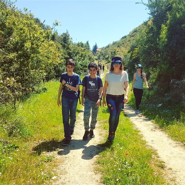 Keep walking...  superhike superwalk superweather☀️☀️☀️  springtime🌸 ... (Batroun District)