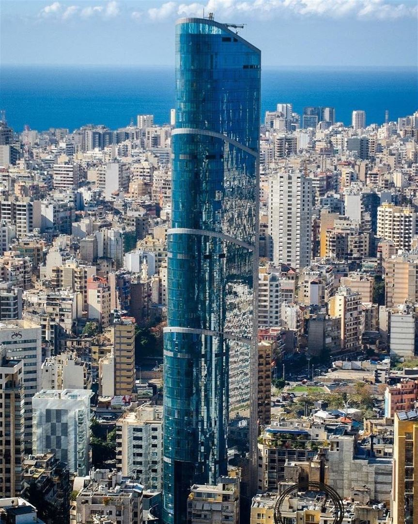 Mornings as seen from the highest top of Achrafieh!📍Sama