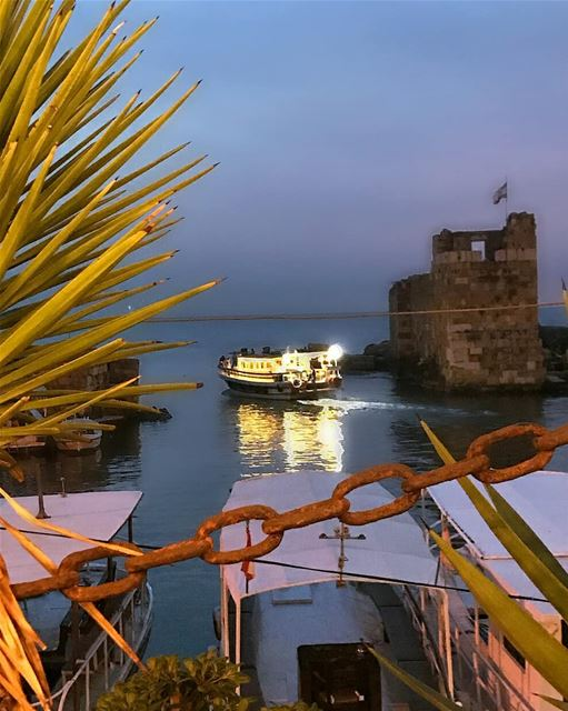 On a day when the wind is perfect, the sail just needs to open and the... (Byblos, Lebanon)