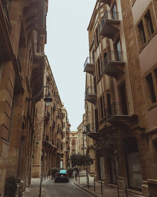 Always amazed by Beirut's architecture 🏡Every time i walk in Beirut I... (Downtown Beirut)