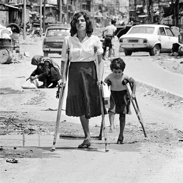 That day of June 1985, there was heavy fighting in the Palestinian camps...