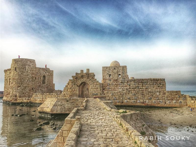 Built in... (Sidon Sea Castle)