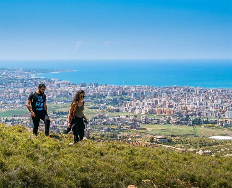 Hiking up Jabal Terbol, a mountain extending from Tripoli city ... (Jabal Tourbol)