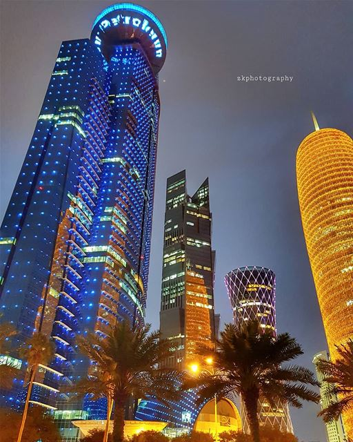Another evening.. * amazing_qatar  qatarism  clubhdrpro  clubasiapro ... (Doha Corniche)