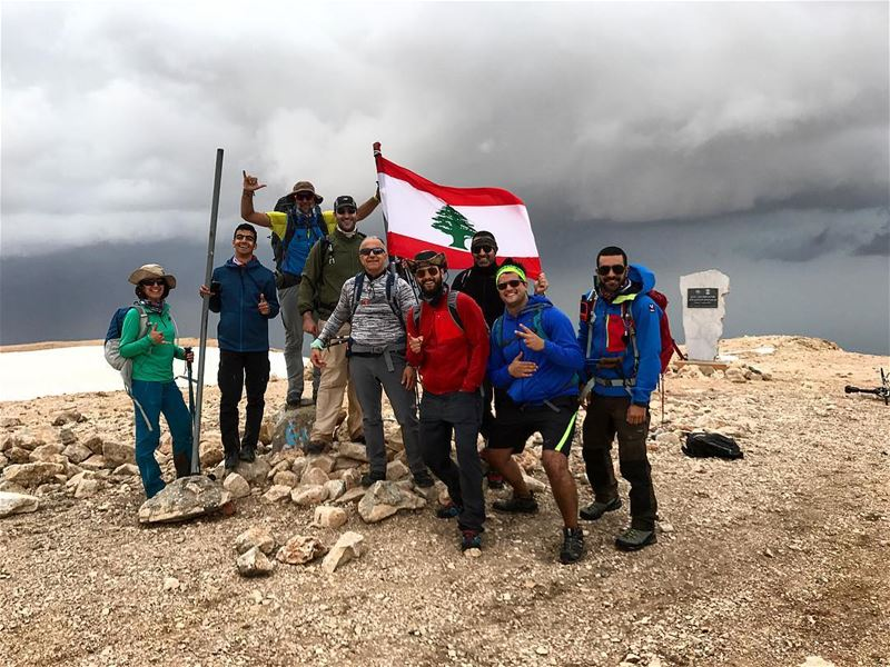Happy Labor's Day from top of Lebanon Qornet es Saouda 3088 ... ... (Qornet es Saouda)