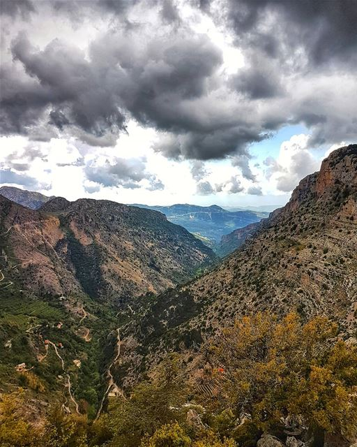 """We can only climb the mountains because there's a valley that makes the... (Lebanon)"
