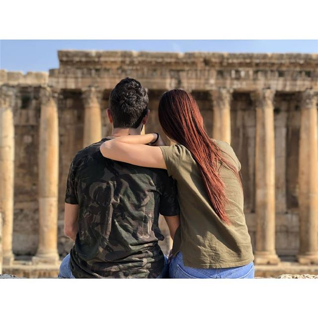 If she wants you don't worry about who wants her! livelovelebanon ... (Baalbek , Roman Temple , Lebanon)