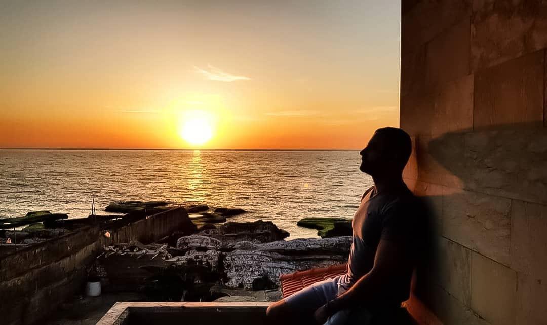 Bliss 🌅 summer sea Lebanon sunset vsco boys girls travel