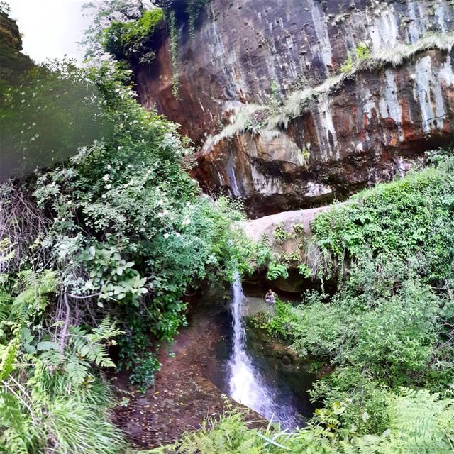 throwback  waterfalls  lebanon   middleofnowhere  middleeast  waterfall  ...