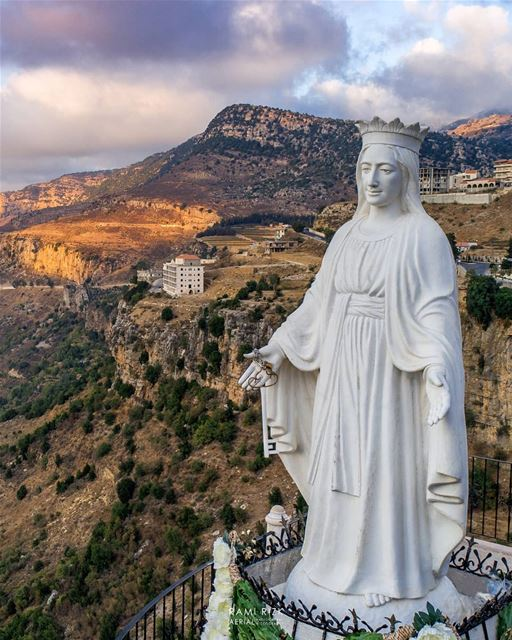 Thank you for everything 💙... jezzine  southLebanon  lebanon  dji ... (The Lady of Maabour - Jezzine)
