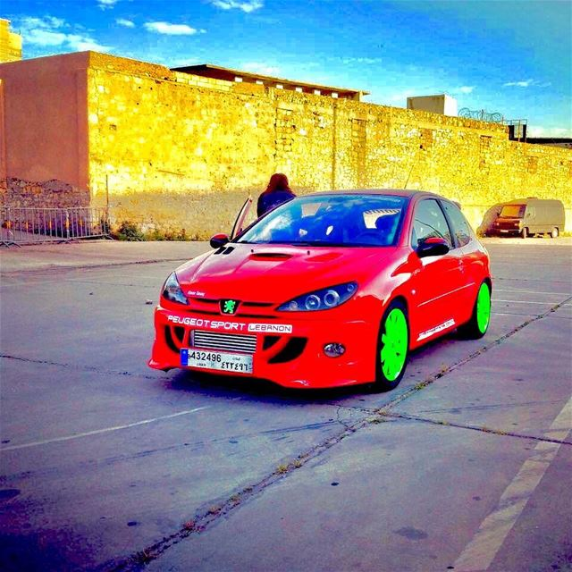 redbeast  neon  green  206  turbo  lebanon  psl  events  red ...