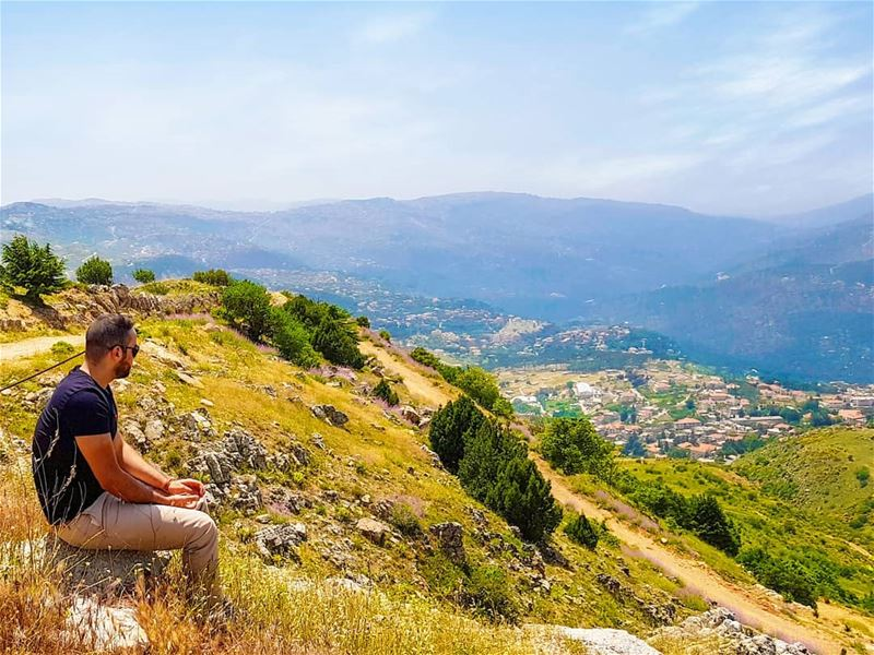 And into the nature i go to loose my mind and find my... (Falougha, Mont-Liban, Lebanon)