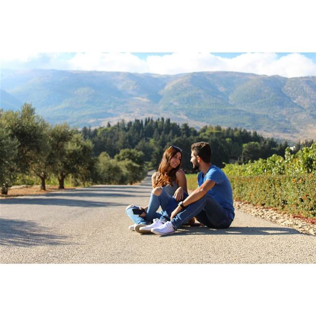Let's go anywhere! livelovelebanon  livelovebekaa  lebanonadventure ... (Bekaa Valley)