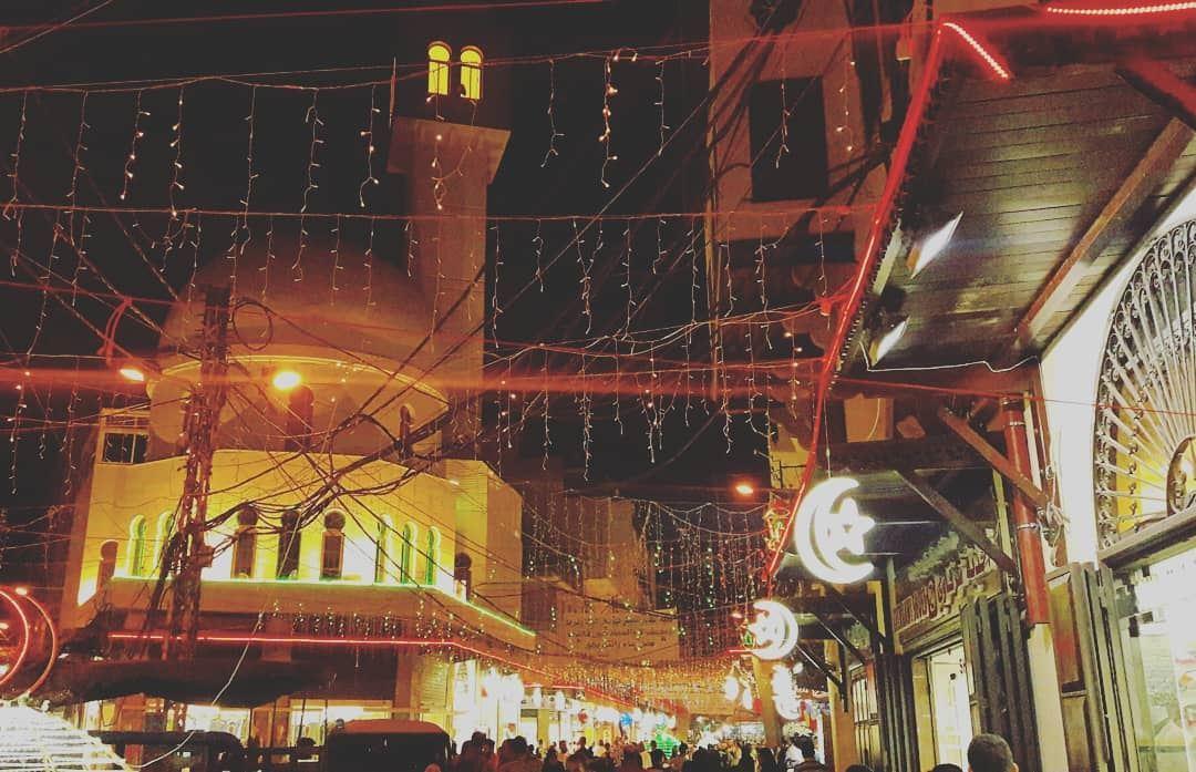 Eid vibes in Tripoli🌜🌛 EidElFitr عيد_الفطر ليلة_العيد عيد عيد_سعيد