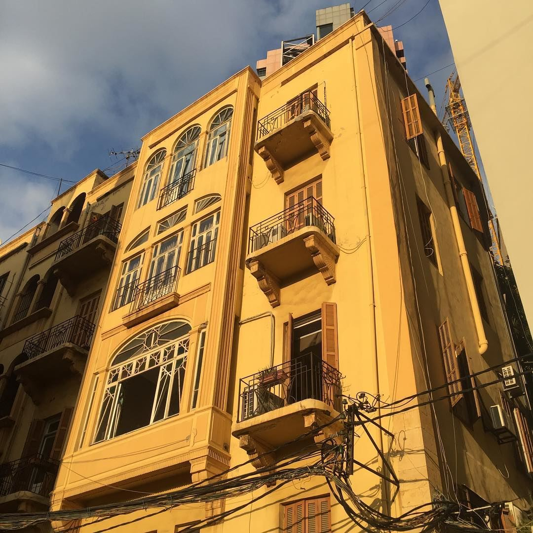 French Mandate Period 1920 1940s Beirut Buildings The