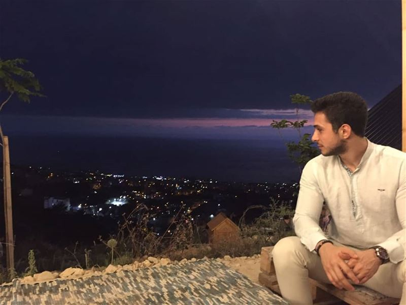 °serendipity°  Byblos  Lebanon  sightseeing  nightsky  goprohero ... (Haven - The cabin)