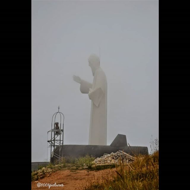 Good morning from the holy land of Saint Charbel..... lebanon  saint ... (Faraya, Mont-Liban, Lebanon)