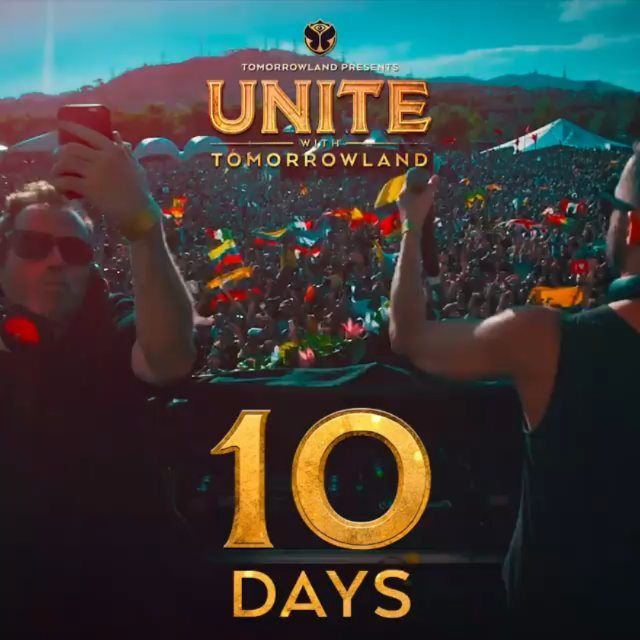 10 more days to Unite With Tomorrowland Lebanon!Saturday july 28th at the... (Biel)