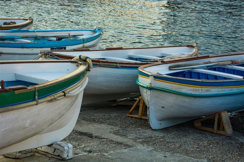 Sea touch...a snap on  capri  old  port  italy  boats  colors  sea ...
