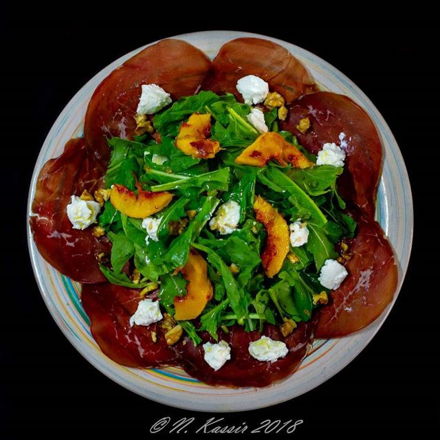 Italian  food  mycooking  homemade  homemadefood  carpaccio  Bresaola ...