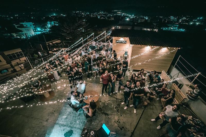 You made it memorable ❤️ A hand crafted rooftop that became a family chill... (Freak's Rooftop)