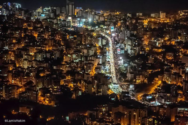 Jounieh from Harissa, you can interpret this photo in many ways. It shows...