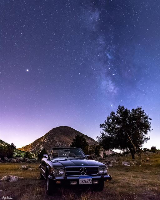A star amongst the stars ✨ 🌌..... milkyway mars mercedes... (Nabatieh Governorate)