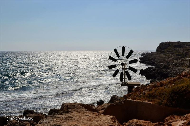 Eternity. It's the sea mingled with the sun.Arthur Rimbaud..When in... (Anfeh Al-Koura أنفه الكورة)