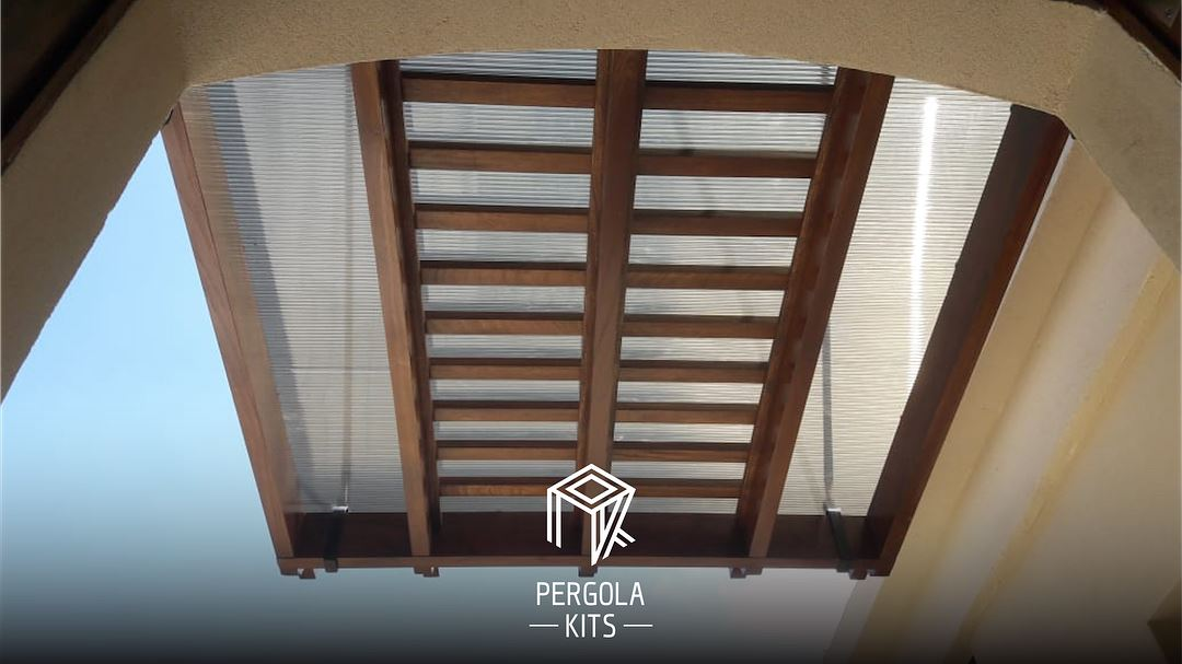 Attached to Entrance, Doors, Windows, with Polycarbonate Roofing Pergola... (Aley District)