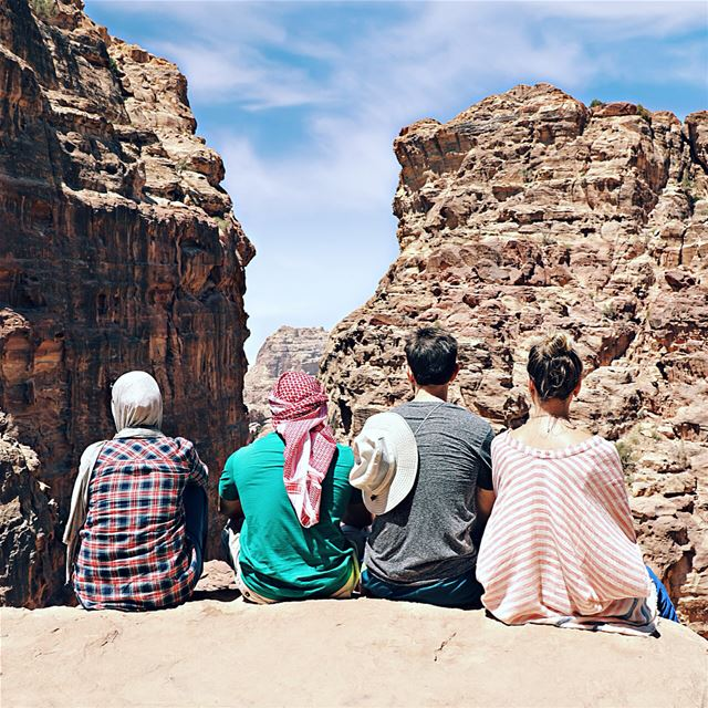 Don't travel alone ! It's boring. Yeah it was the most amazing boring day... (Petra, Ma`An, Jordan)