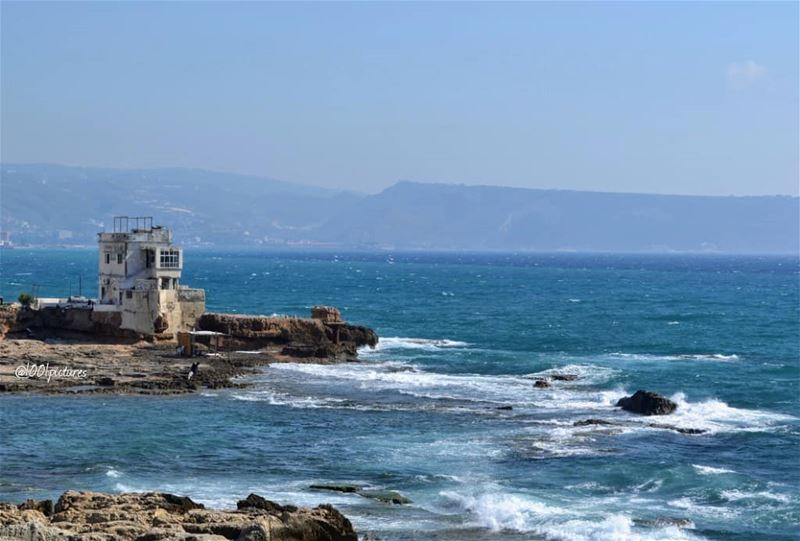 Memories....... sea  seascape  travelpic  lebanon  nikon  nikonphoto ... (Anfeh - Koura sea)