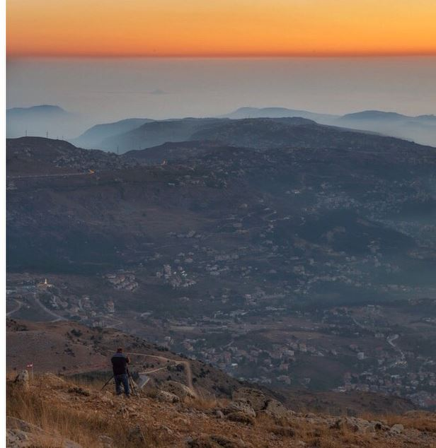 𝐓𝐡𝐞 𝐯𝐢𝐞𝐰 𝐟𝐫𝐨𝐦 𝐚𝐛𝐨𝐯𝐞 !!!... (Mount Lebanon Governorate)