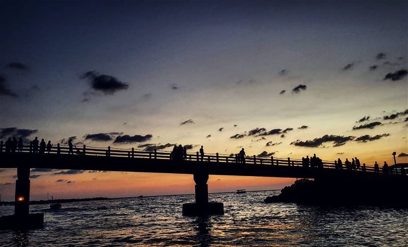 """There are certain bridges that are not worth crossing, no matter what... (Tripoli, Lebanon)"