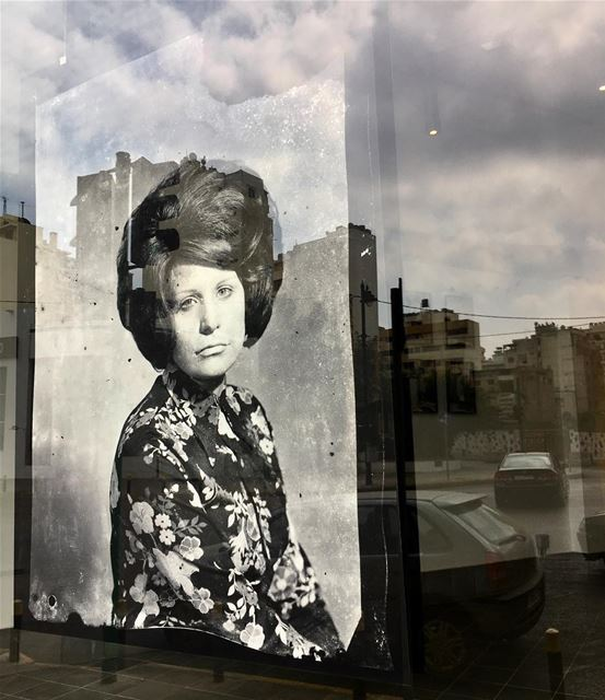 Beit Beirut by the window  photoexhibition  streetphotography ... (Beit Beirut)