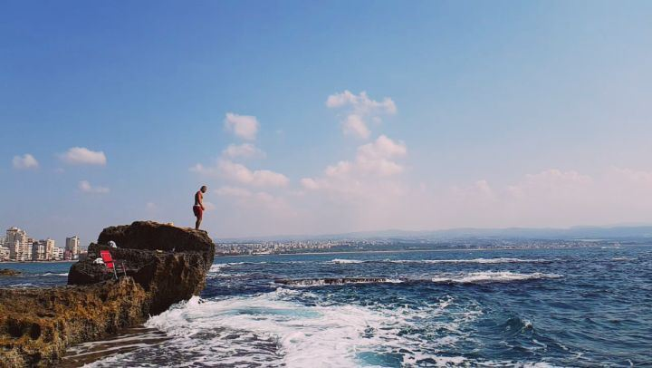 Those who don't jump will never fly 🌞. love  instagood  me  jumping ... (Tyre, Lebanon)